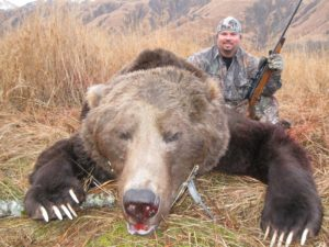 kodiak brown bear bow hunt