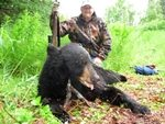 Alaska Black bear sport fishing combo