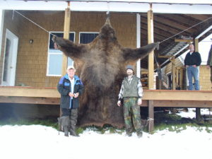 ren foot six Alaska brown bear and B&C record