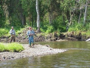 great fly fishing stream in alaska